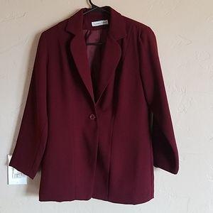 Maroon Work Jacket